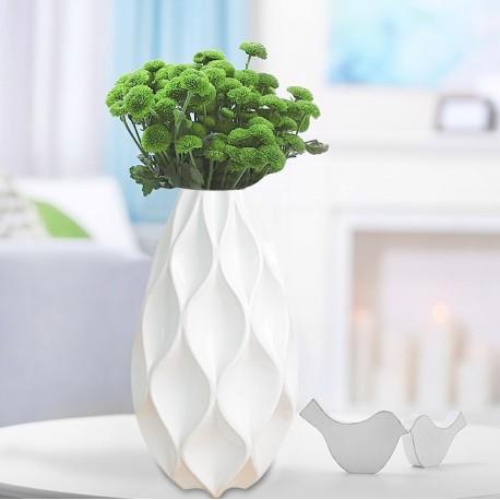 vase géométrique losanges