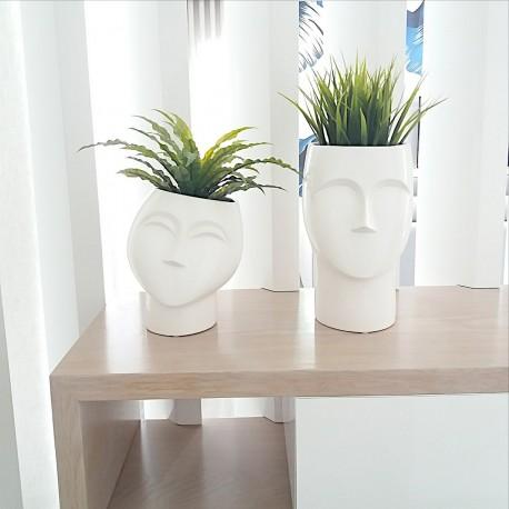 Dekorative Kopfvasen
