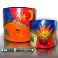 Pot Orchidée céramique