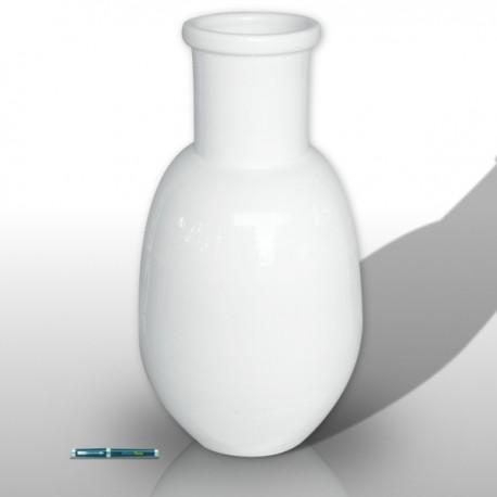 Grande vaso colori bianco