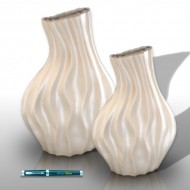 Neck vases