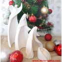 Crèche de Noël moderne