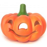 Abóbora Halloween em cerâmica