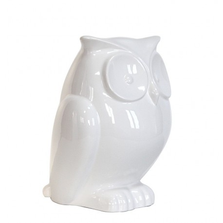Hibou en céramique