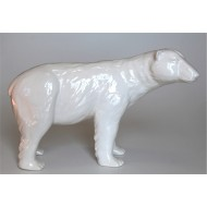 Polar bear in ceramic