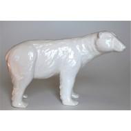 Urso polar de cerâmica