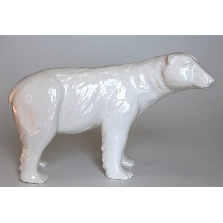 Oso polar en cerámica