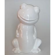 Keramik-Frosch-Figur