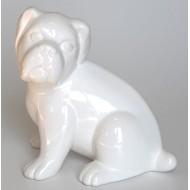 Perrito de cerámica