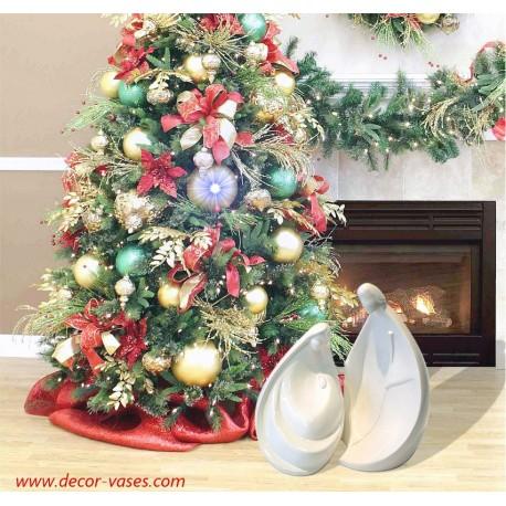 Crèche de Noël contemporaine