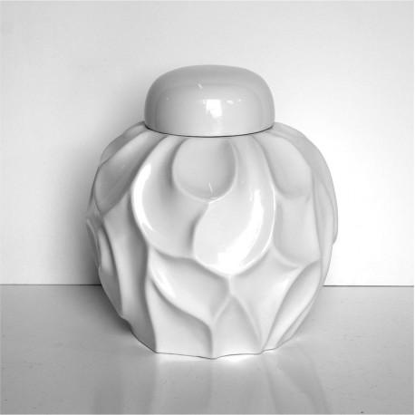 Vase mit Deckel