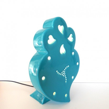 Viana heart lamp