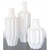 decorative geometric vases