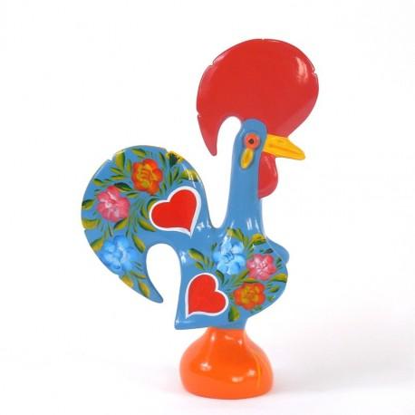 Gallo de Barcelos azul